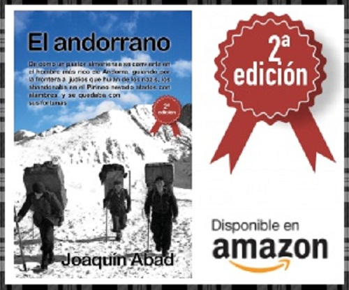 Pueden solicitar el secuestro de 'El andorrano', de Joaquín Abad