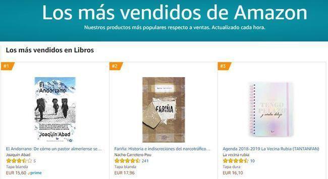 La novela 'El Andorrano' de Joaquín Abad es el libro más vendido en Amazon