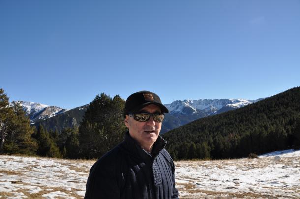 """Joaquin Abad, autor d''El andorrano': """"He escrit una novel·la, ficció, però cognoms i llocs són andorrans: és lògic"""""""