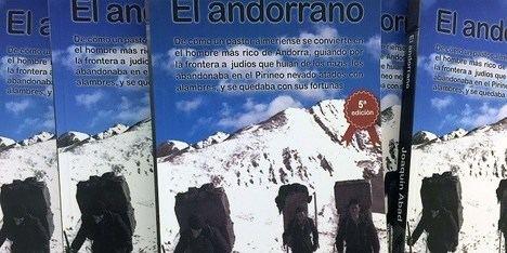 """""""El andorrano"""", con su autor Joaquín Abad"""